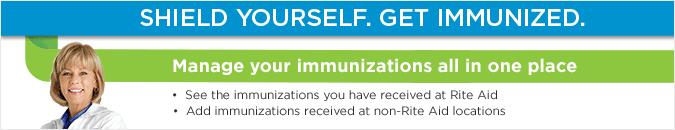 Shield Yourself. Get Immunized.