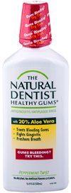 Alcohol-free,  all natural or cruelty-free oral care
