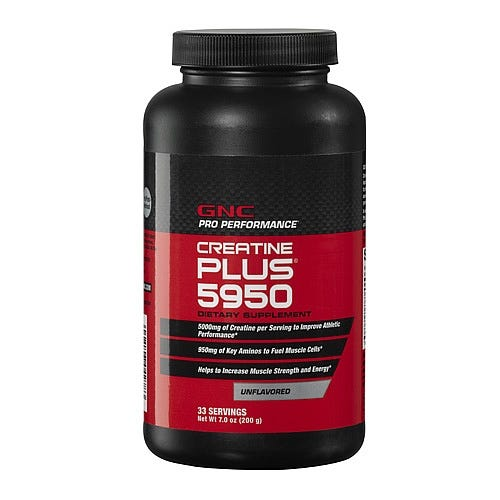 Image of GNC Creatine Plus Protein Powder, 200 g