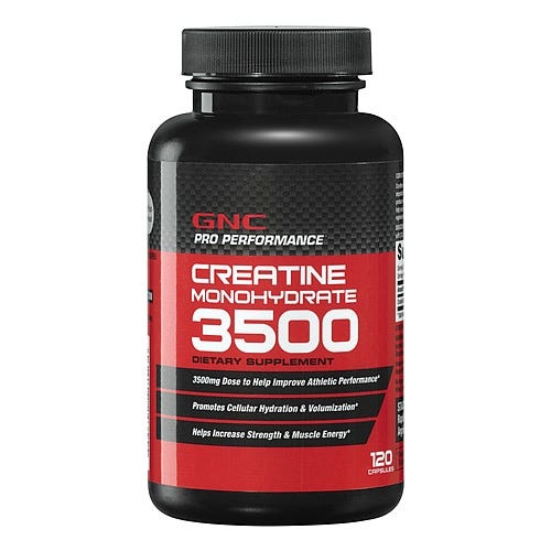 Image of GNC Creatine Protein Powder, 120 Capsules