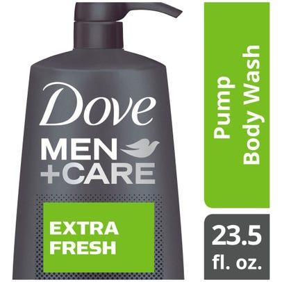 Dove Men Care Body Pump Body Wash Extra Fresh 23 5 Oz Rite Aid