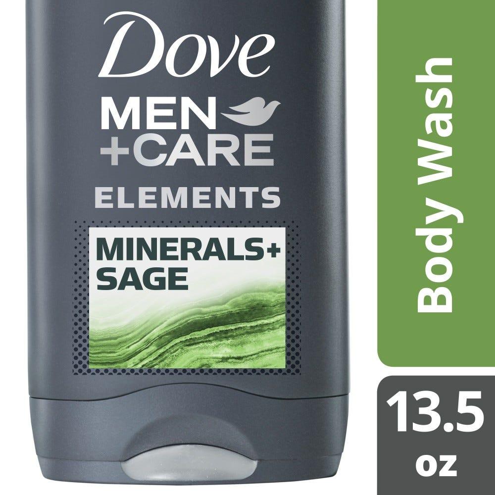 Dove Men Care Elements Minerals Sage Body Wash 13 5 Oz Rite Aid