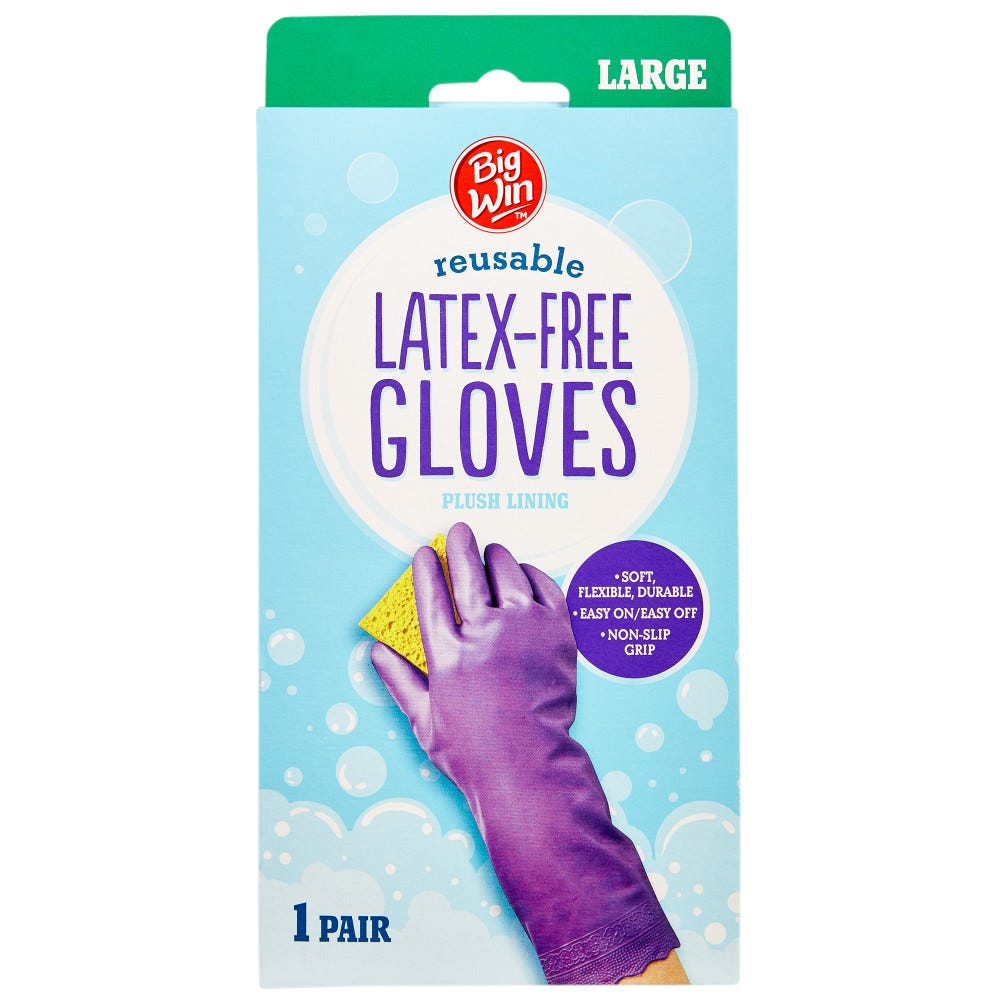 Image of Big Win Latex Free Gloves Large - 1 ct