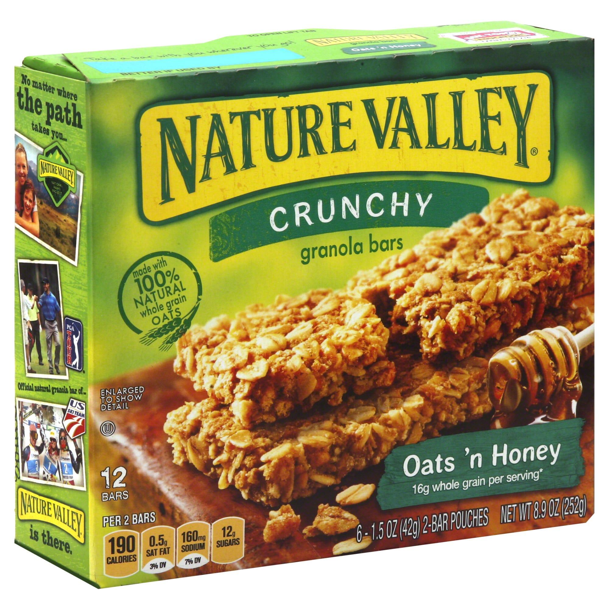 Nature Valley Granola Bars, Crunchy