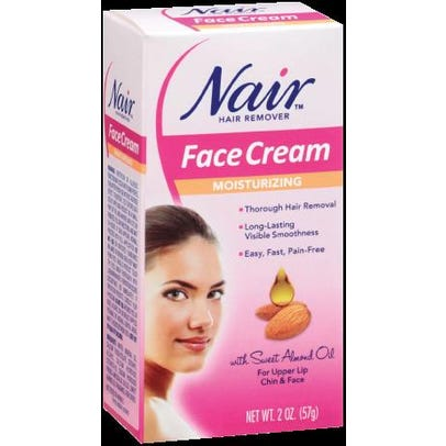 Nair Hair Remover Face Cream Moisturizing 2 Oz 57 G Rite Aid