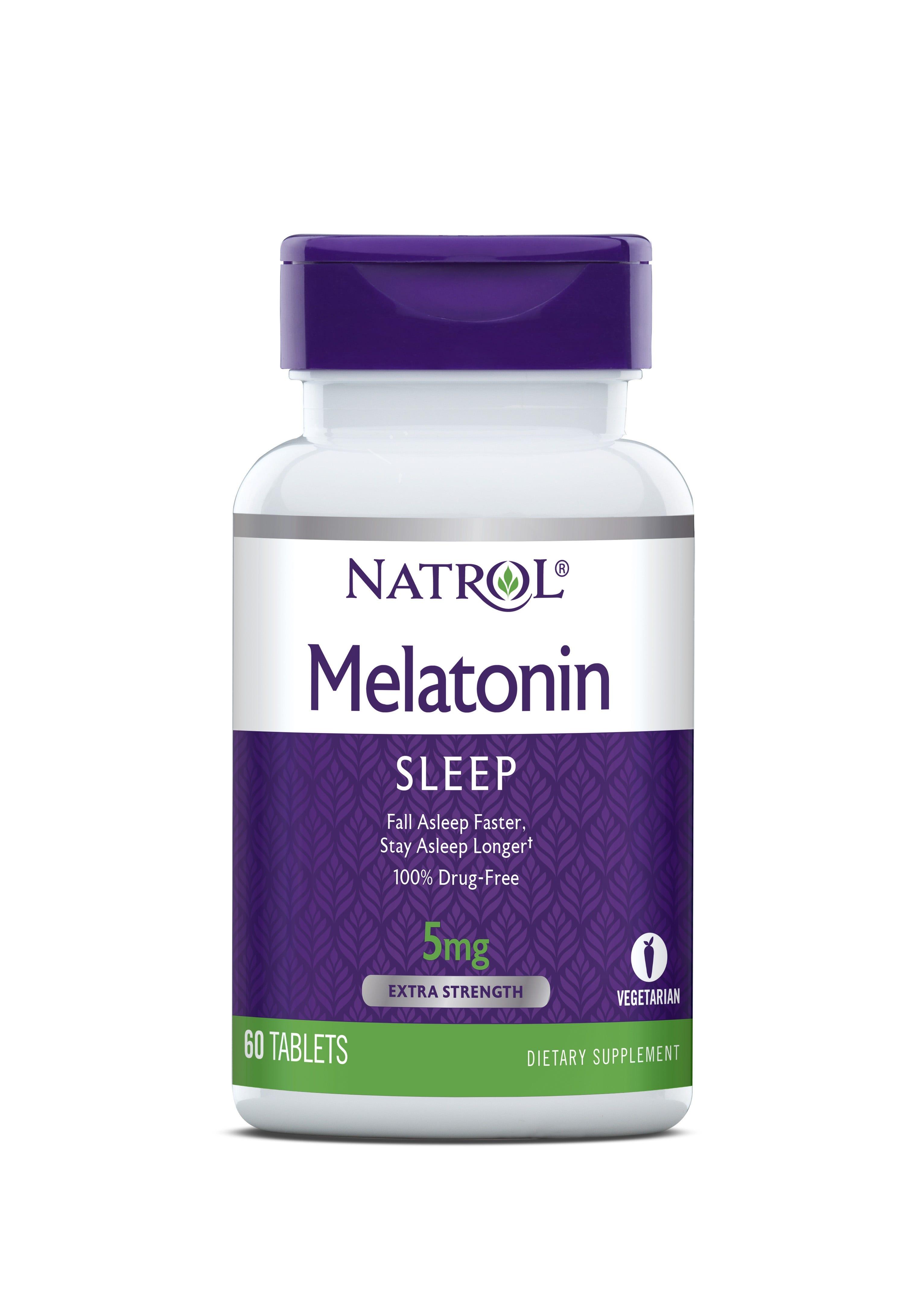 Image of Natrol Melatonin Sleep Tablets, 5mg - 60 ct
