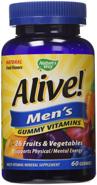 Image of Alive Men's Gummy Vitamins - 60 ct