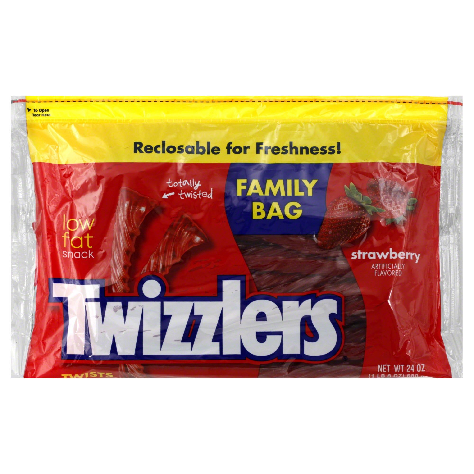 Twizzlers Twists, Strawberry, Family