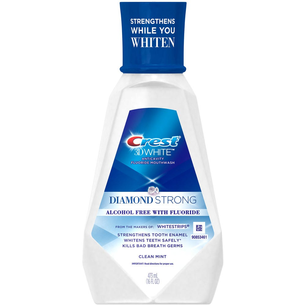 Image of Crest 3D White Diamond Strong Mouthwash