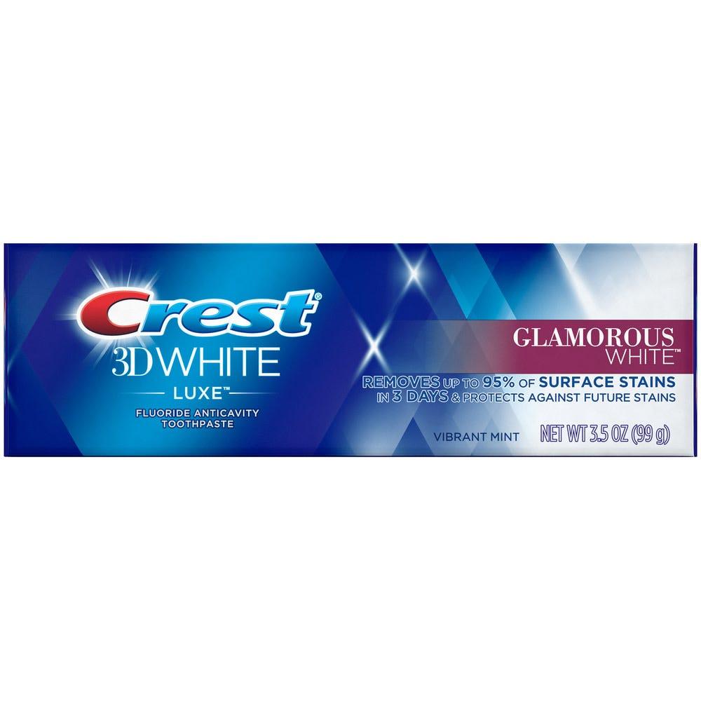 Image of Crest 3D White Luxe Glamorous White Toothpaste, 3.5 oz