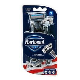 Barbasol Ultra 6 Plus Premium Disposable Razors - 3 ct