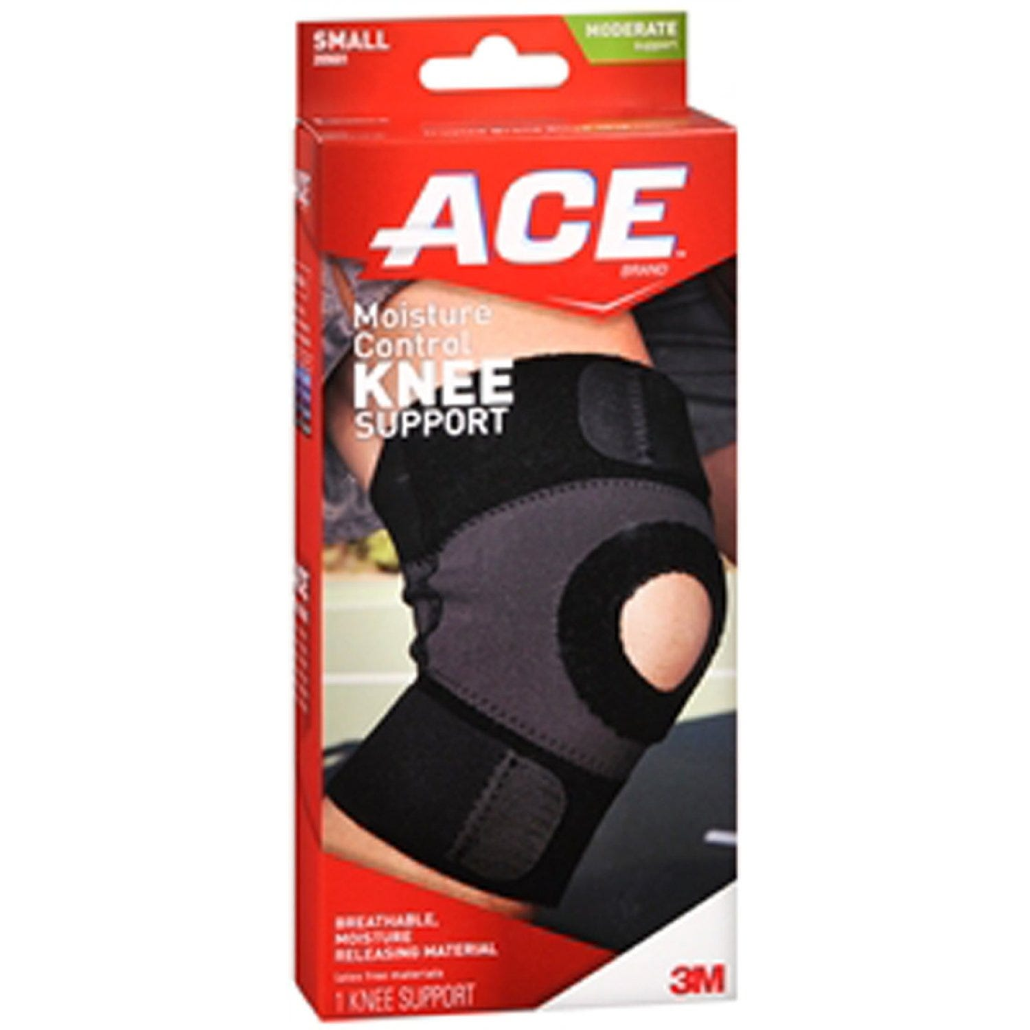 Image of ACE Knee Support, Moderate Support, Small