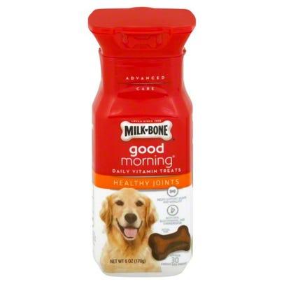 Milk Bone Good Morning Daily Vitamin Dog Treats Healthy Joints 6 Oz