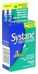 Image of Systane Eye Drops, Long Lasting - 0.167 fl oz, 2 ct