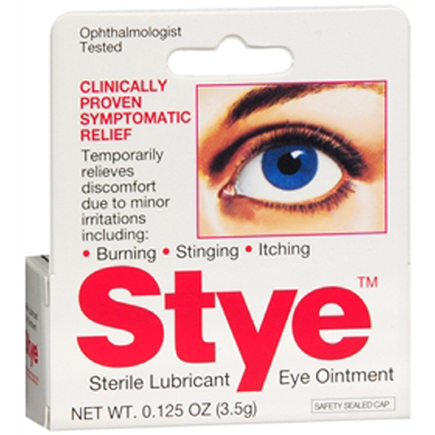 Image of Stye Medicine Eye Ointment and Sterile Lubricant - 0.125oz