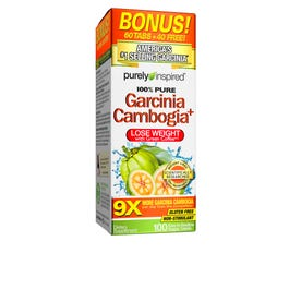 Purely Inspired Garcinia Cambogia 100 Tablets Rite Aid