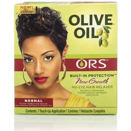 ORS Olive Oil New Growth No Lye Hair Relaxer Kit, Normal