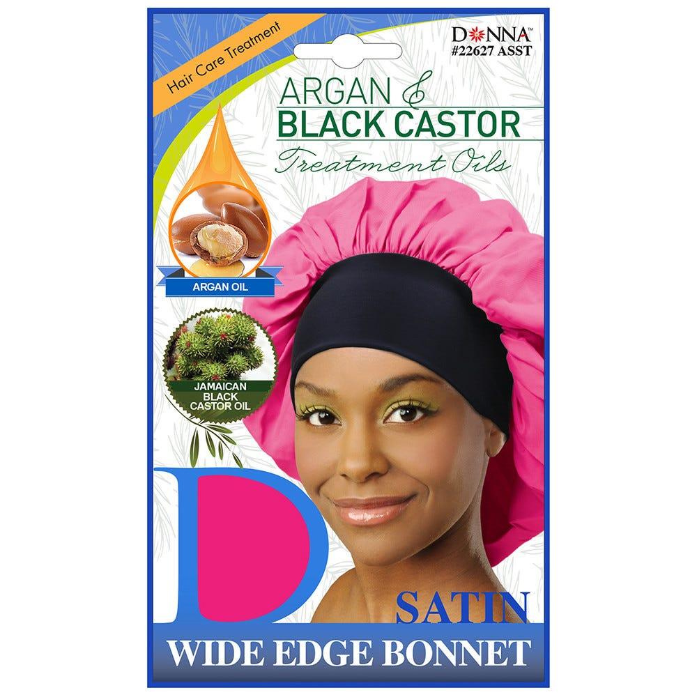 4 in 1 Treated Satin Bonnet Sleep Cap
