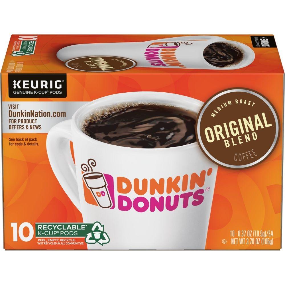dunkin donuts k cups dark roast