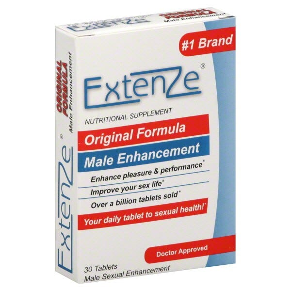 Image of ExtenZe Original Formula Male Sexual Enhancement - 30 ct