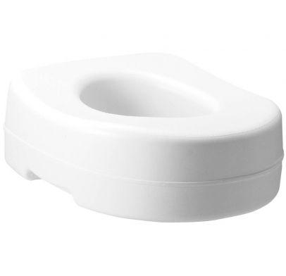 Carex Raised Toilet Seat Slip Resistant Contoured Seat Rite Aid