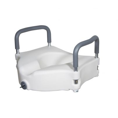 Drive Medical Raised Toilet Seat With Removable Arms White Rite Aid