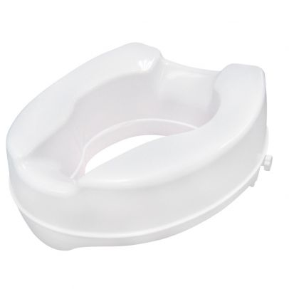 Drive Medical Raised Toilet Seat With Lock White Size 4 Rite Aid