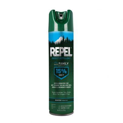 Repel Insect Repellent Scented Family Formula 15 Deet Aerosol