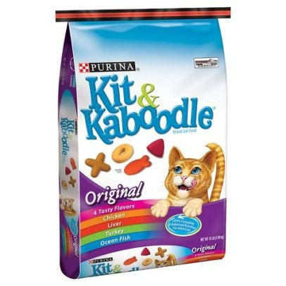 Purina Kit & Kaboodle Original Cat Food, 13lb