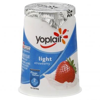 Yoplait Yogurt, Fat Free, Strawberry 6
