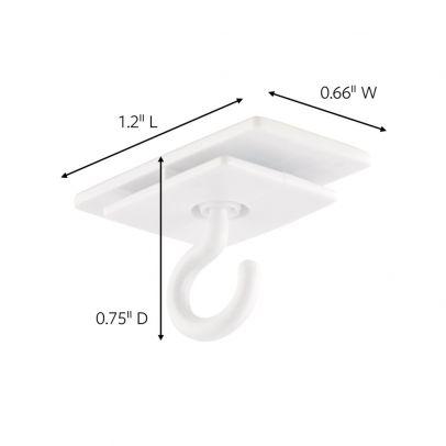 3m Command Ceiling Hooks 3 4