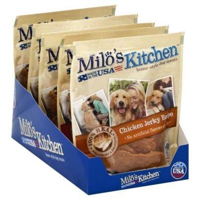 Milo S Kitchen Chicken Jerky Recipe Dog Treats 8 5 Oz