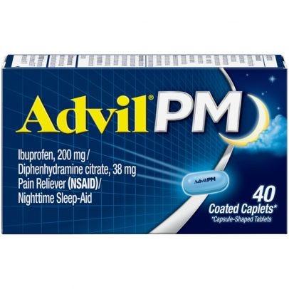 Advil PM Pain Reliever/Nighttime Sleep