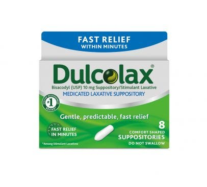 how fast does dulcolax suppository work