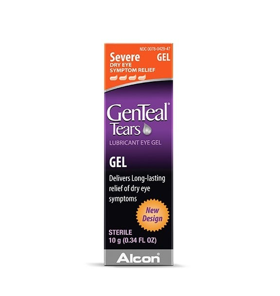 Image of GenTeal Lubricant Eye Gel, Severe Dry Eye Relief - 0.34 fl oz