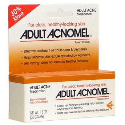 Adult Acnomel Acne Medication Cream Tinted 1 3 Oz Rite Aid