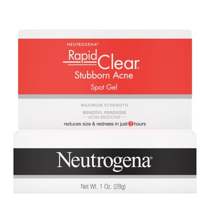 Neutrogena Rapid Clear Stubborn Acne Spot Gel 1oz 1 Tube Rite Aid