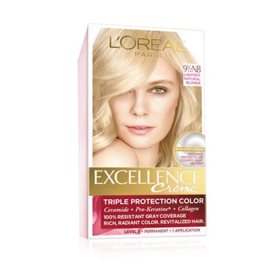 Excellence Excellence Creme Color Creme Natural Lightest Natural Blonde 9 1 2 Nb 1 Application Rite Aid