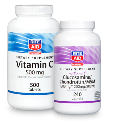 rite aid brand vitamins and supplements