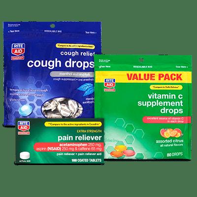 Rite Aid Brands Earn BonusCash This Week Select Medicine Cabinet